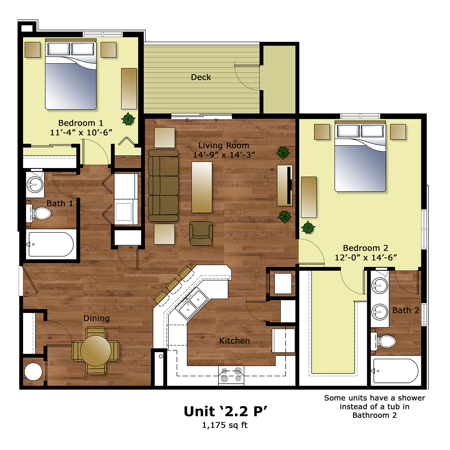 Floor plans firestone meadows apartments for Floor plans for units
